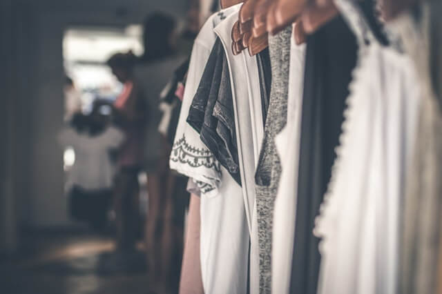 cloths hanging