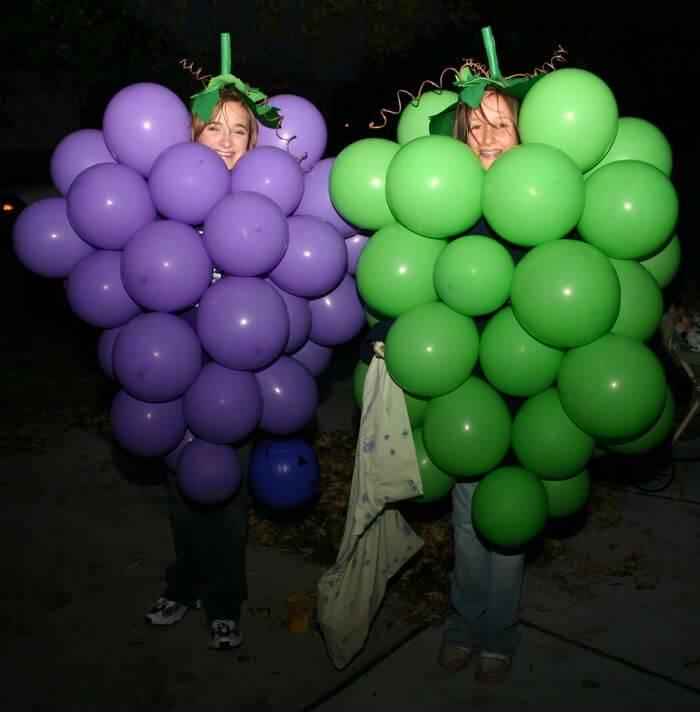 Grape costumes