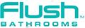 Flush BATHROOMS logo