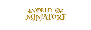 WORLD OF MINIATURE logo