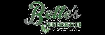 Belle's FRUIT BASKETS logo