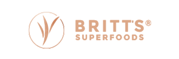 BRITT'S SUPERFOODS logo