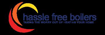 hassle free boilers logo